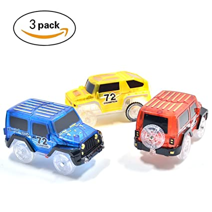 Amazon Com Magic Tracks Cars Only Light Up Replacement Track Race