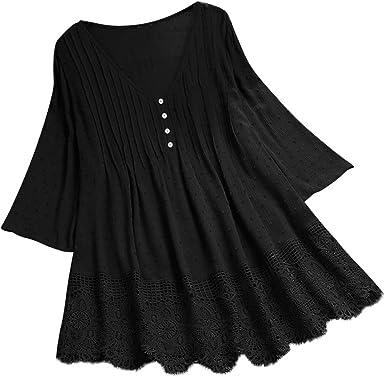 Black Linen Top Washed Linen Shirt Loose Linen Blouse Linen Shirt Ruffled Bottom Black Linen Top Blouse with Linen TShirt Linen Blouse