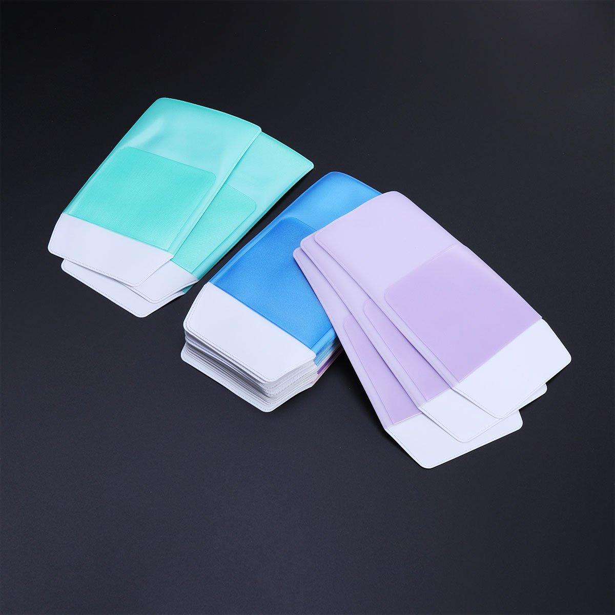 6 St/ück YEAHIBABY Sortierte Farbe Pocket Protectors Mehrzweck Pen Bag f/ür Pen Leaks f/ür Schule Krankenhaus B/üro