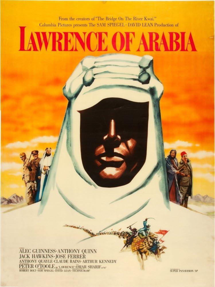 Amazon.com: Posterazzi Lawrence Of Arabia 1962 Movie Masterprint Poster  Print, (11 x 17): Posters & Prints