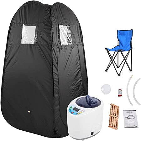 ZFF Portable Steam Sauna Cabin Home Spa