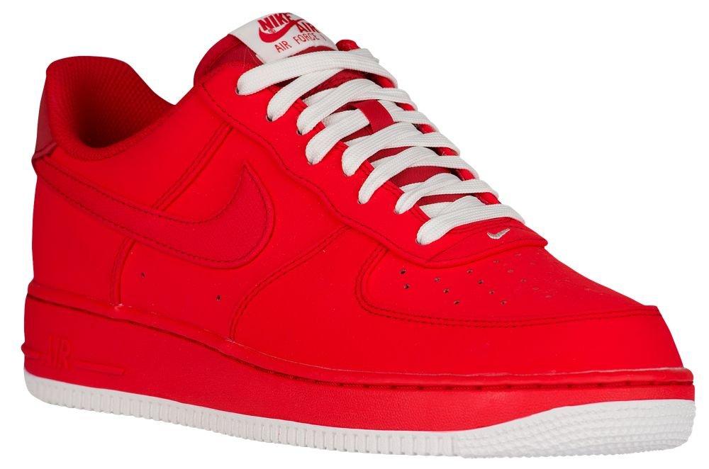 [ナイキ] Nike Air Force 1 Low - メンズ バスケット [並行輸入品] B071FJVKCL US08.0 University Red/Sail/University Red
