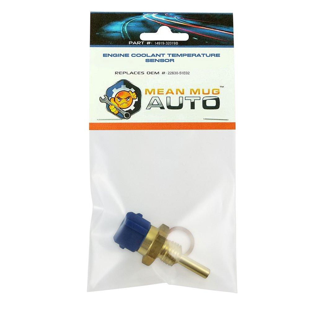 Infiniti Engine Coolant Temperature Sensor Replaces OEM #: 22630-51E02 Mean Mug Auto 14919-32019B For: Nissan