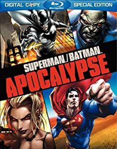 Superman/Batman: Apocalypse (Two-Disc Amazon Exclusive Limited Edition with Litho Cel) [Blu-ray]