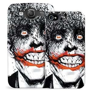 Joker With Batman Logo In His Eyes Phone Case for iPhone 5/5S wangjiang maoyi