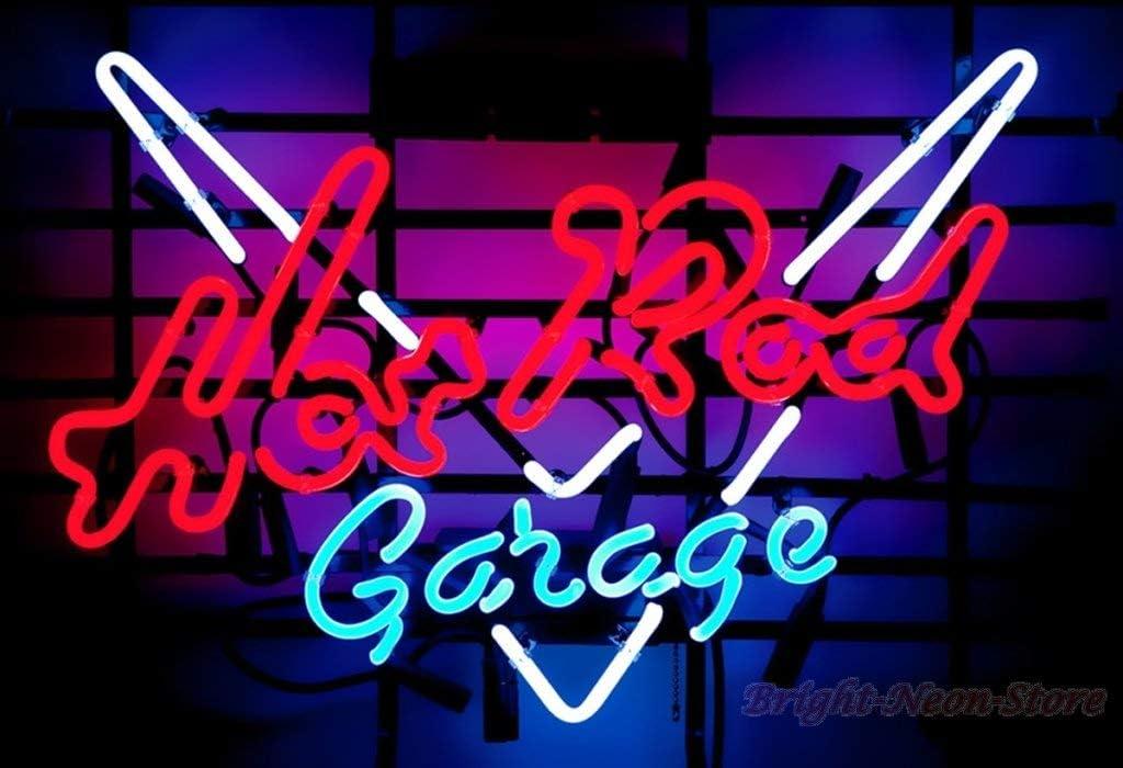 Hot Rod Car Garage LED Neon sign night Light Man Cave decor Best Gift