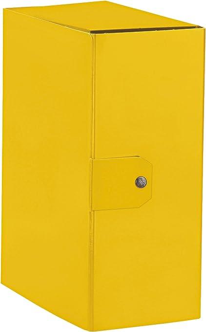 8 Cm Giallo A4 Esselte Cartella a Scatola per Larchiviazione di Documenti a Lungo Termine