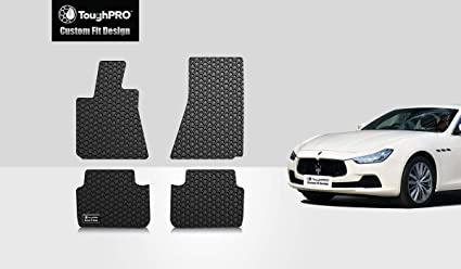 Heavy Duty Rubber Car Boot Mat Liner Pet Protector For Maserati Levante 2016 On