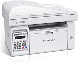 All in One Multifunction Black and White Wireless Laser Printer Copier, Scanner and Fax with ADF, Pantum M6602NW