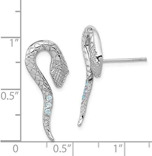 Mia Diamonds 925 Sterling Silver Solid Rhodium-Plated Cubic Zirconiain and Out Hinged Hoop Earrings 36mm x 37mm