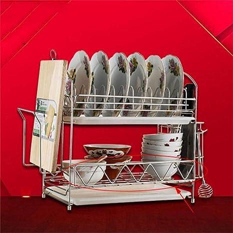 YSA Cubiertos Cubiertos Estante Estante para lavavajillas ...