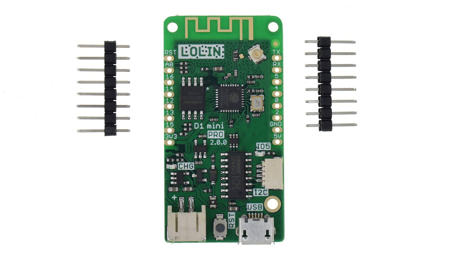 LOLIN D1 Mini Pro V2.0.0 WiFi IoT Development Board 16MB MicroPython Nodemcu Arduino