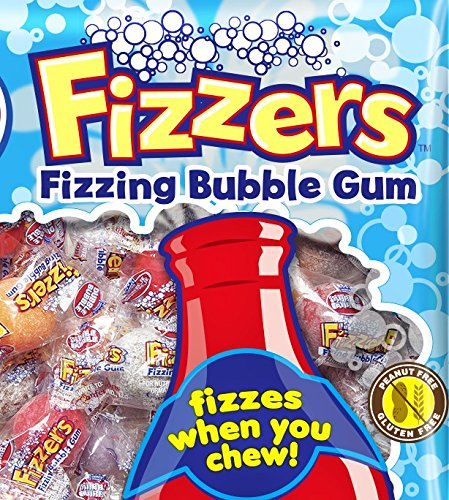 Dubble Bubble Fizzers (1 pound) - Root Beer Gumballs