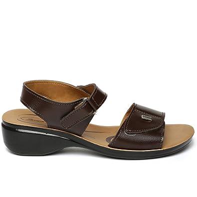 188b84f37524 Paragon Women s Brown Traditional Sandal - 4 UK India (37 EU)(PU7700L