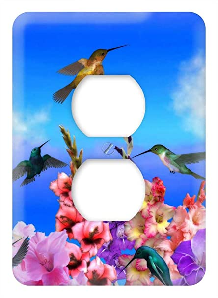 Amazon.com: WaPlate - Hummingbirds - Switch Plate Outlet ...