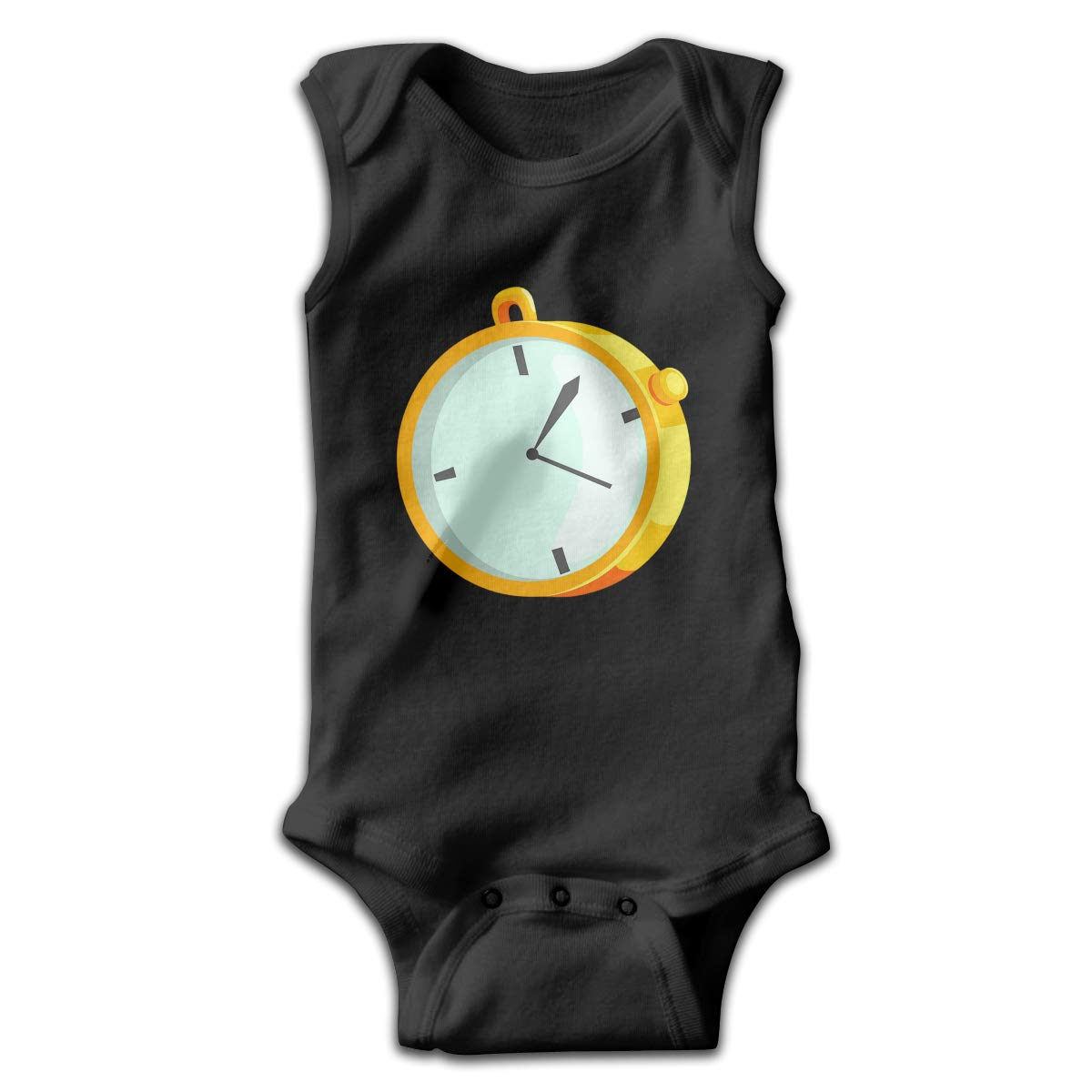 FAFU/&SKY Mechanical Stopwatch Drawing Toddler Baby Clothes Onesie Sleeveless Summer for Baby