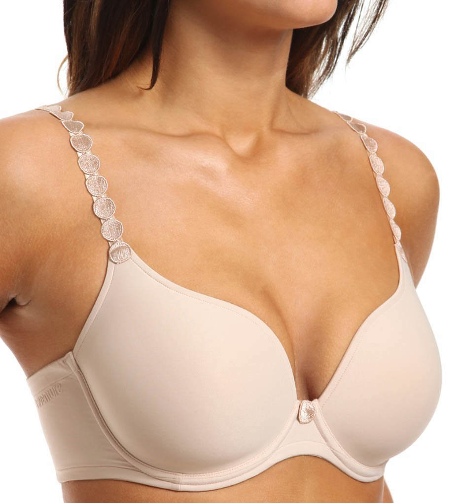 e595947659 Details about NWT Tom Convertible T-Shirt Bra Size 36F Color Caffe Latte