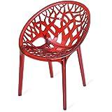 Nilkamal Crystal PC Chair (Red Wine)
