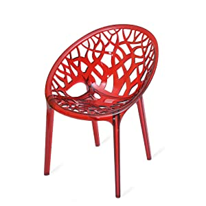 Nilkamal Crystal PC Chair (Red Wine)