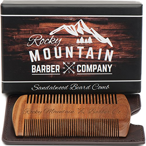 Beard Comb Sandalwood Fragrance Anti Static