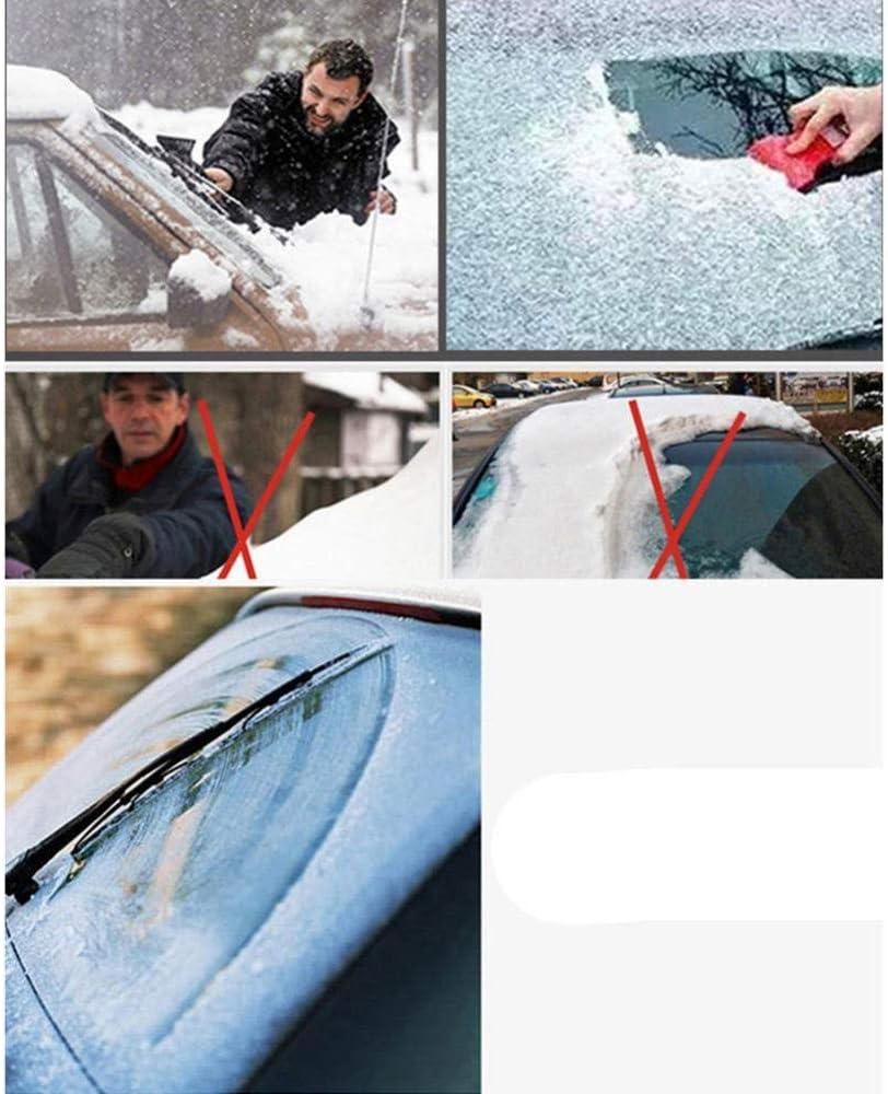 ZDY BOX Frontscheibenabdeckung Auto Scheibenabdeckung Windschutzscheibe Abdeckung Fixierung Faltbare Auto Abdeckung f/ür Windschutzscheibe gegen UV-Strahlung Sonne Staub Schnee EIS Frost