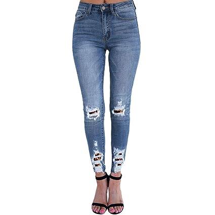 Pantalones Vaqueros Pantalones de Primavera y Verano ...