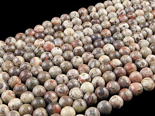 Beads Ok, DIY, Nuevo Océano Jaspe, Genuino, Natural, 4mm, Abalorio, Cuenta, Mostacilla o Chaquira De Piedra Semipreciosa,...