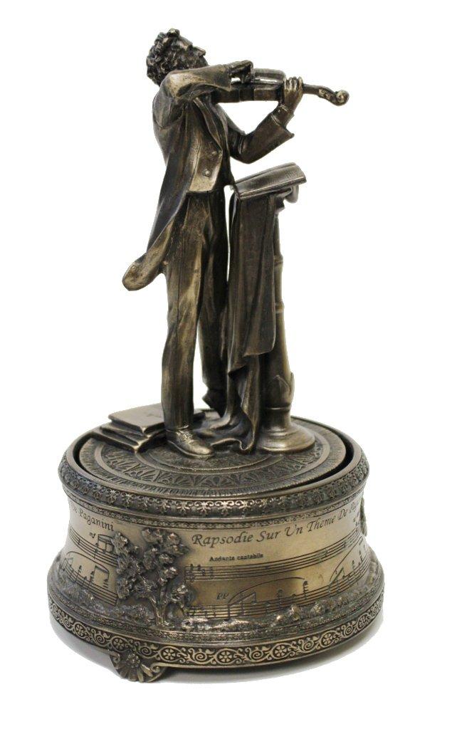 素晴らしい外見 ニコロパガニーニ音楽ボックスCold Cast Cast Bronze Bronze B01F7XDDTO B01F7XDDTO, 【創業100年】 ひめじやネット通販:9ec5ad33 --- arcego.dominiotemporario.com