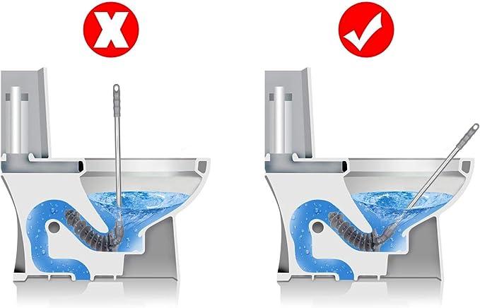 Toilet émbolo, cnstar Pistón Clog Remover dragado dispositivo ...