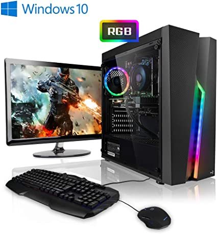 Pack Gaming - Ordenador Gaming PC AMD Ryzen 5 2600 • 24