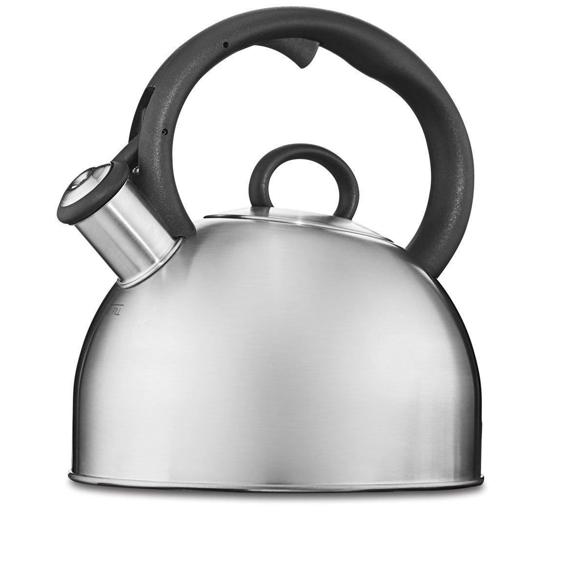 amazoncom cuisinart ctkss aura stainless steel stovetop  - amazoncom cuisinart ctkss aura stainless steel stovetop teakettleqt tea kettle kitchen  dining