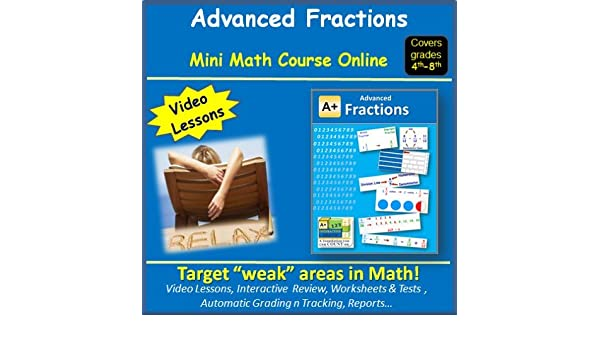 Amazon.com: Learn about Advanced Fractions (covers 4th to 8th ...