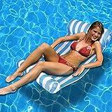 Swimline 9044 Premium Swimming Pool Floating Water Hammock Lounge Chair