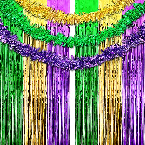 Best fringe curtain mardi gras list