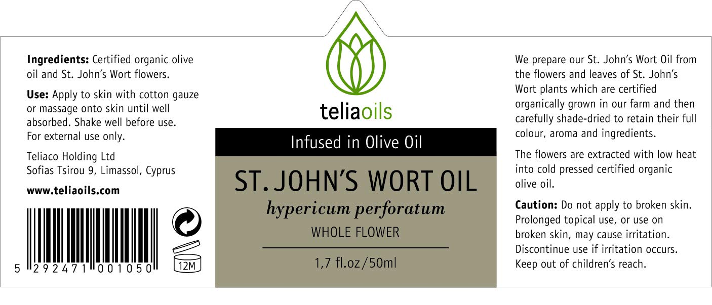 Amazon.com: St John 's wort (Hypericum perforatum ...