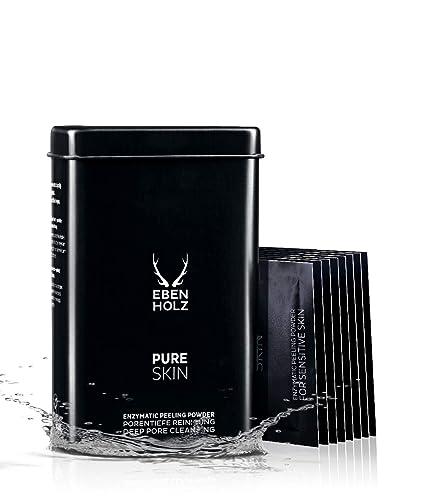 Ébano - Mens Spa - Pure Skin enzima exfoliante polvo - 8 x 4 ...