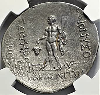 GR 2nd-1st Centuries BC Ancient Thrace Antique Silver Coin AR Tetradrachm Choice Extremely Fine NGC
