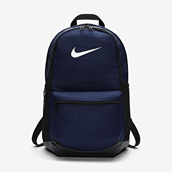 Nike Polyester 24 Ltrs Casual Backpack (Navy, Black, White)