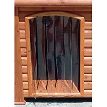 Amazon Outback Dog House Door In Clear Size Medium Large