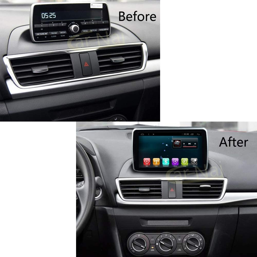 Car Radio Player GPS Android 8.1 Navi for Mazda 2 2014-2018 Car Multimedia Stereo Audio Sat NAV Head Unit Car Navigation with WiFi