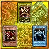 yugioh 3 god cards - Yugioh World Contest Collection Yugioh Rare Card God The Card Anime Game Cards YU-GI-OH Egyptian God Cards Collection Cards