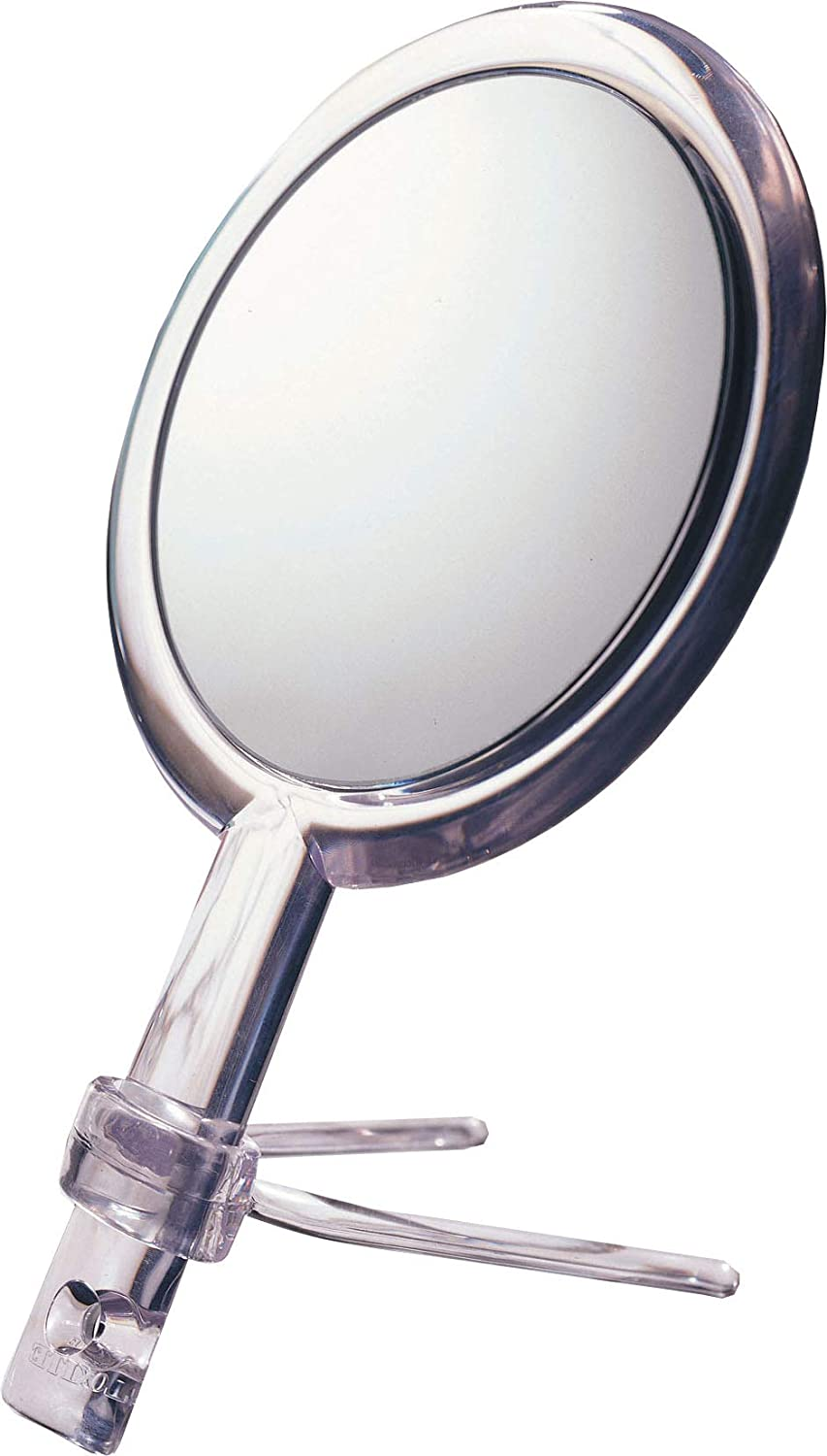 Floxite L/d 15x Plus 1x Handheld 2-sided Mirror With Stand