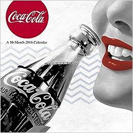 `TOP` Coca-Cola Wall Calendar (2016). Lavado tonos Commerce rules programa NEXOS completa