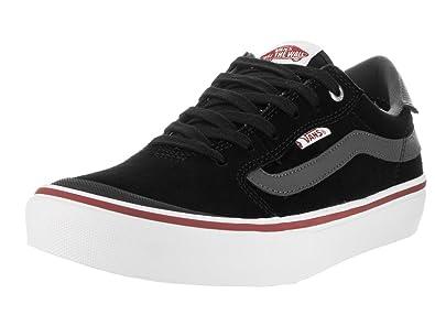 Vans Men's Style 112 Pro Black/Asphalt Skate Shoe 9 Men US