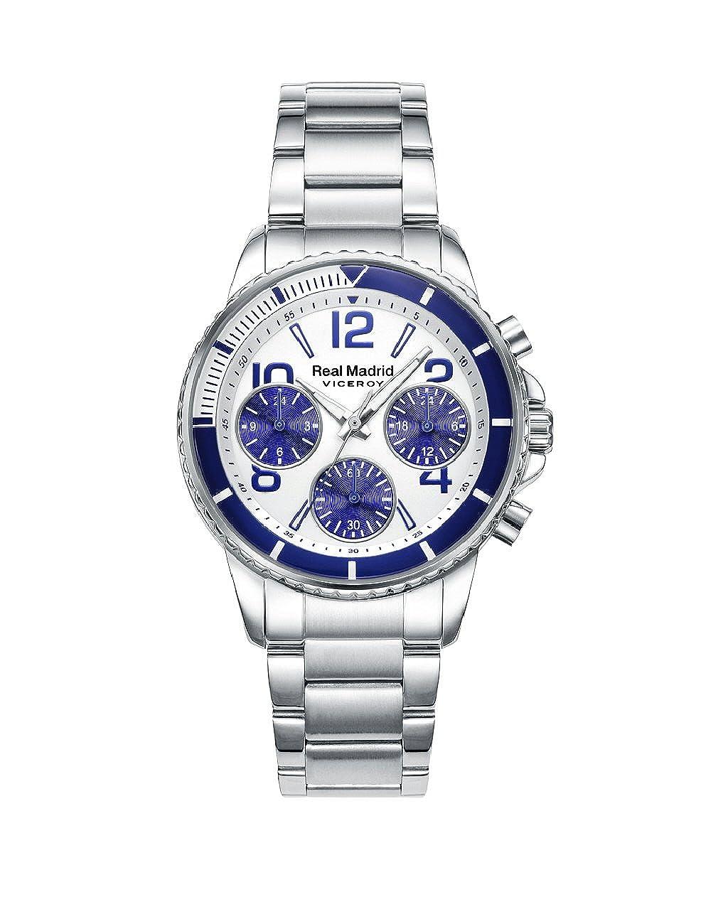 Viceroy 42300-07, Reloj Cronógrafo para Niños, Coleccíon Real Madrid: Amazon.es: Relojes