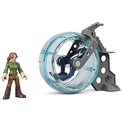 Fisher-Price Imaginext Jurassic World, Claire & Gyrosphere: Toys & Games