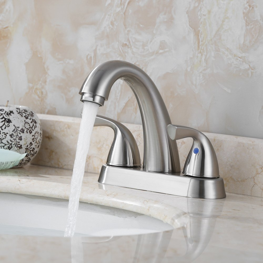 10. Parlos 2-Handle Bathroom Faucet