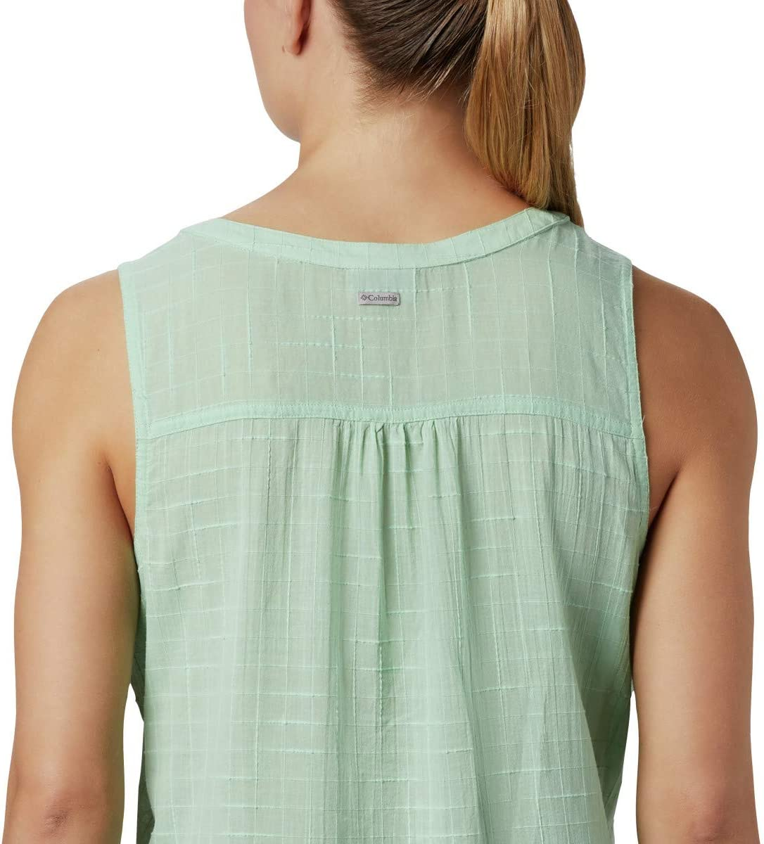 Columbia Women's Summer Ease Sleeveless Shirt New Mint