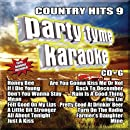 Party Tyme Karaoke - Country Hits 9 (16-song CD+G)