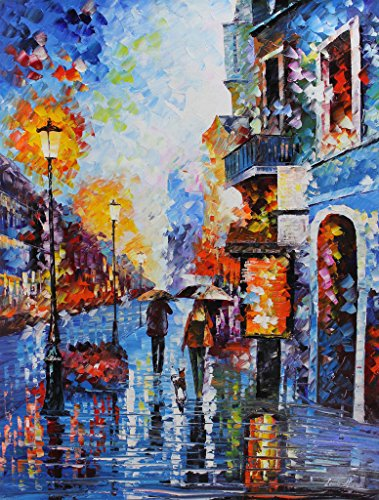 Melody of Passion is a ONE-OF-A-KIND, ORIGINAL OIL PAINTING ON CANVAS by Leonid AFREMOV …
